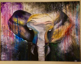 Elephant , Let the journey be Colorful