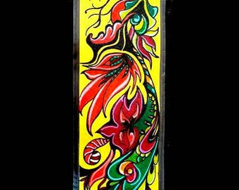 Bookmark made entirely by hand