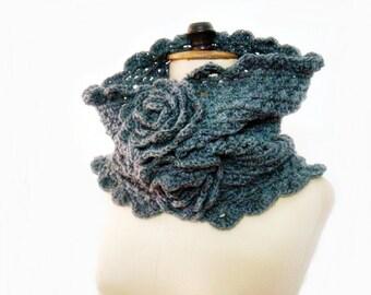 PATTERN Crochet Cowl, Snood Pattern, Circle Scarf Crochet Pattern, Pattern Neckwarmer, Crochet Infinity Scarf, 212