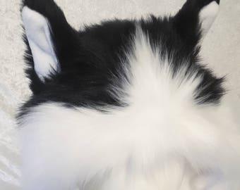 Long Siberian Husky Critter Hood