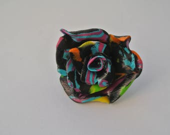 ring shaped pink, black and multicolor