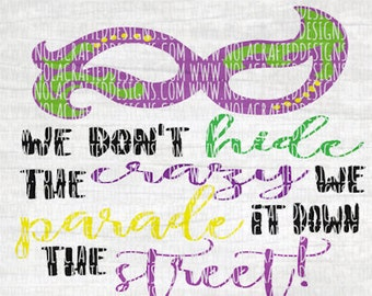 Mardi Gras Svg Cut File - Mardi Gras Mask Svg Cut File - Happy Mardi Gras Svg Cut FIle - New Orleans Svg Cut File - Louisiana Svg Cut File