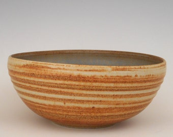 Hand thrown Serving or Salad bowl                  SHIPPING INCLUDED