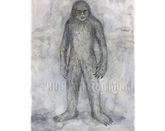 The Big Grey Man of Ben MacDhui Print