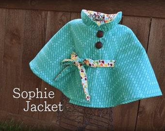 Childrens Coat PDF Sewing Pattern