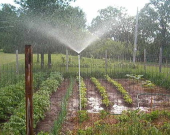 "3 foot Home Made Sprinkler Lawn and Garden Sprinkler    ""WORKS LIKE RAIN""  Sod Seed Greenhouse"