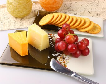 Rolling Hills Cheese Board and Cracker Tray, GetGlassy