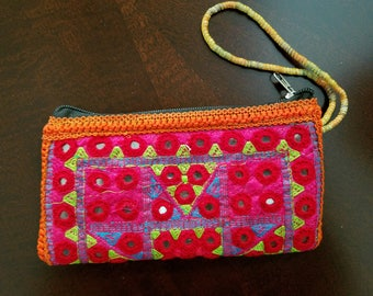 Embroidered Handmade Wallet - Gift For Her