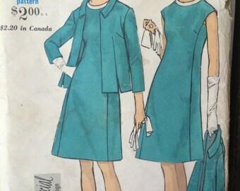 Vogue 7202--- Special Design Jacket and Dress Ensemble
