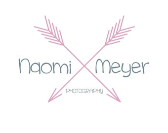 Photography logo, premade logo design