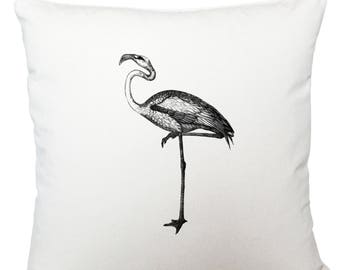 Cushions/ cushion cover/ scatter cushions/ throw cushions/ white cushion/ black bird cushion cover