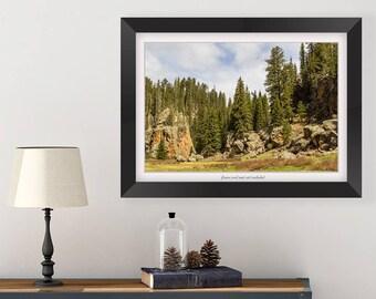 New Mexico Art - Southwest Decor - Rustic Bedroom Wall Decor - Landscape Photography Print - Rustic Wall Decor - New Mexico Photography