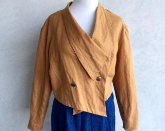 Cropped 80's Jacket