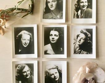 Vintage Photo Set- 1940's - Vinatge Ladies