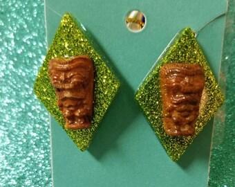 Tiki Earrings