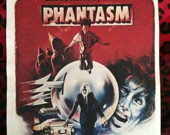 "Phantasm Back Patch! 11"" X 14.5"" Horror Punk Rockabilly Psychobilly"