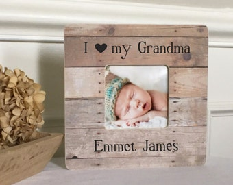 ON SALE Grandma Gift Grandmother Grandfather Grandparents Gift  Personalized Custom Picture Frame Personalized Picture Frame