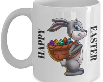 Cute EasterBunny Mug - Happy Easter