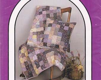 Dream Spinners - #154 – Pillow Talk - Pattern for 2 lap size quilts that fold into an attached pillow.– New Condition