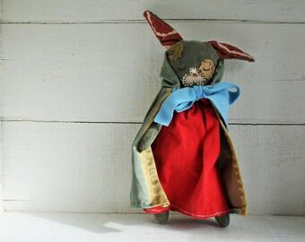 Bunny, Toy, Eco Friendly, dress up doll, cloth doll, rag doll, plushie, stuffed animal