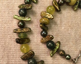 Spring Rain Fresh Water Pearl Necklace