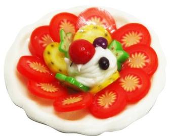 Argile polymère, Minicake Foods fournit des bonbons pour maison de poupées Collection