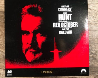 The Hunt for Red October LaserDisc Letterboxed Edition