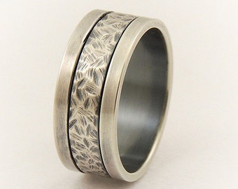 Silver wide ring for men - wedding ring,engagement mens ring,promise ring