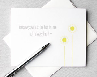Mother's Day Card. Floral Printable Card. Mom Birthday Card. Mothers Day Stepmother Card. From Daughter. Card From Son. Instant Download.