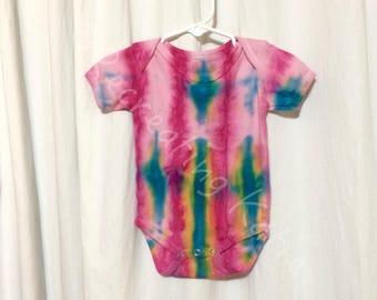 Infant Tie Dye Onesie, Size 12 Months. Tie Dyed, Tie Dye, Infant, Baby, Onesie, Onesies, Tee, Jersey