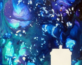 "Art Print 8"" x 10"" -Landed TARDIS-"