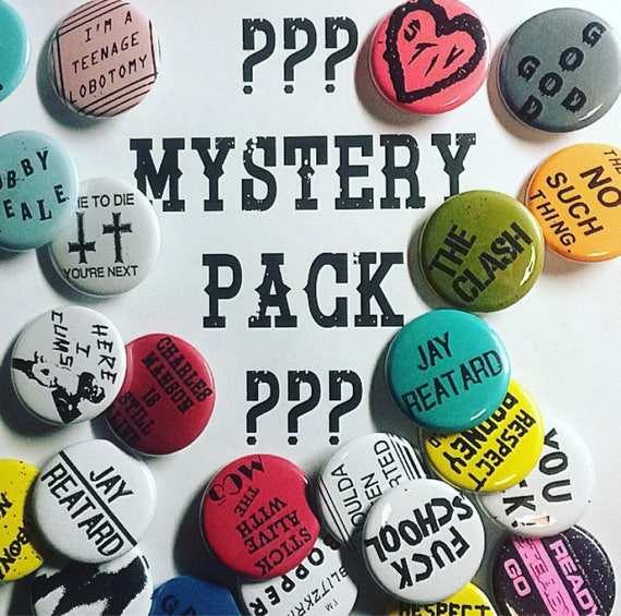 Mystery Pack 7 Pins!