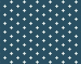 Dear Stella Fabric Crosses in color Ink, Choose your cut