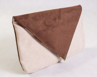 Fun clutch purse in the Color of Your Choice