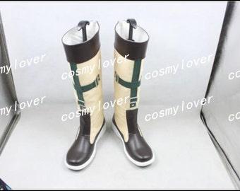 Final Fantasy X Rikku Custom Made Cosplay Boots/Shoes