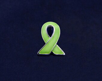 50 Lymphoma Ribbon Lapel Pins (50 Pins) (P-06-9)