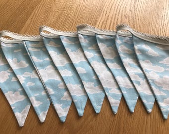 Blue Sky & Clouds Bunting