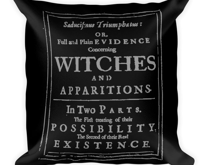 VVITCHES Throw Pillow