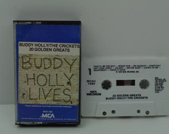 Buddy Holly / The Crickets 20 Golden Greats USA Cassette Tape