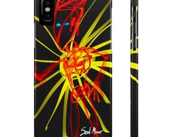 Angel Devil Sun Slim Phone Cases By Case Mate