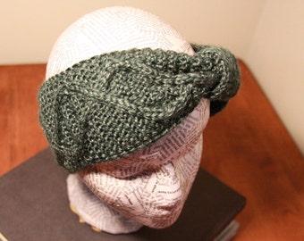 Custom Knitted DNA Headband