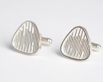 Plectrum Cufflinks