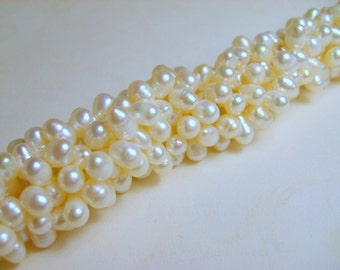 Top Drilled Freshwater Pearls - Full 16 inch Strand