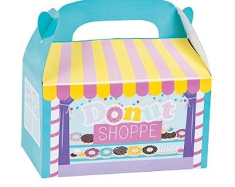 12/ Donut Party Treat Boxes