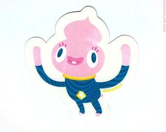 Astro-Baby sticker