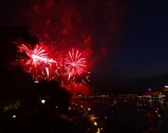 Regatta Fireworks over Pittsburgh