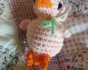 3in Pink Chick Toy