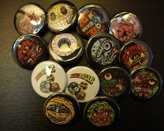 Madball Pinbacks or Magnets