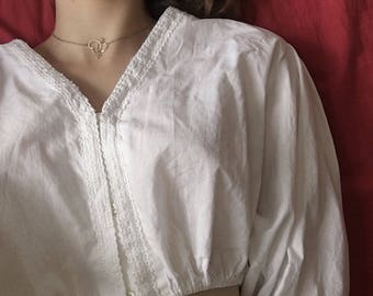Cute and Soft Vintage Nymphet Lolita Blouse