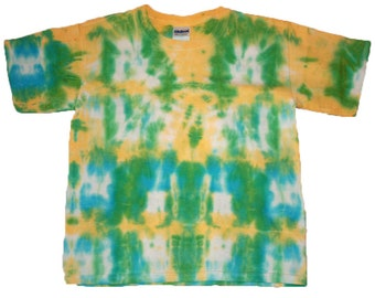 Tie Dyed Gildan Ultra Cotton Youth T-Shirt Size XS Cotton TDC143